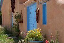 Desert SW Adobe Homes/Architecture