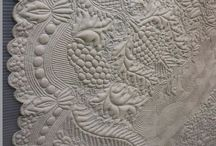 FMQ on quilts / by Kathy Awender