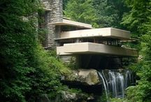 Frank Lloyd Wright Style / by Karry Dempsey