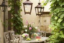 Garden / Winecellar Area