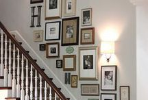 Hatfield Family Pics Collage Staircase