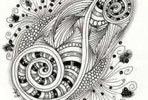 ZEN Tangle & Doodleing / by The Art of Tammy Pryce