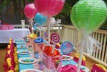 Inspirações para festas.