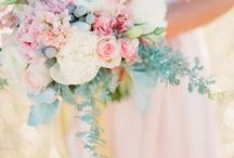Bridal Bouquets & Wedding day flowers / Bridal bouquet & other beautiful wedding day related flowers!