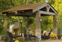 Home Decor-Outdoor Living Areas / by Christine Rees