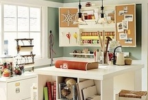 Home Decor-Craft/Hobby Room Design / by Christine Rees