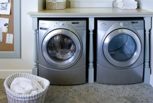 Home Decor-Laundry Design / by Christine Rees