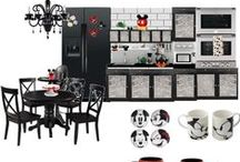 Retro Mickey Kitchen/Basement / Vintage. Classic. Retro. Mickey. In our finished basement / by Katelyn Jordan