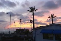 """Beach Living in SoCal... / A cozy, fun beach house for sale - it's called """"The Poche Hut"""" (see http://www.pochebeach.com for listing details). Shown here with a variety of beach scenes I've photographed close by, in beautiful San Clemente, CA."""