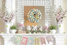 Here Comes Peter Cottontail / Decor and other sweet ideas for Easter! / by Katelyn Jordan
