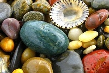Beautiful minerals & elements, crystals, stone & jewels like pearls & amber & also Shells. / by John Christie