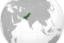 Pakistan / The territory that now constitutes Pakistan was previously home to several ancient cultures, including the Mehrgarh of the Neolithic and the Bronze Age Indus Valley Civilisation, and was later home to kingdoms ruled by people of different faiths and cultures, including Hindus, Indo-Greeks, Muslims, Turco-Mongols, Afghans and Sikhs. / by John Christie