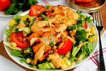 Hearty Salads With Meat / by Amanda Gilds