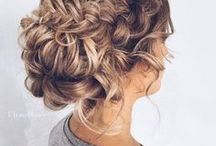 Bridal Hair / Wedding Hair Styles for brides and bridesmaids