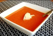 Food-Soup & Salad / by Christine Rees