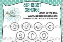 Alphabet Candies