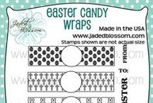 Easter Candy Wraps