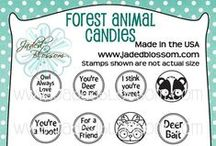 Forest Animal Candies