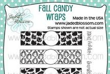 Fall Candy Wraps