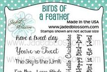 Birds of a Feather / Party Favors, Cards, 3d items, created with Birds of a Feather