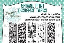 Animal Print Designer Tapes