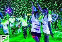 Foam Glow 5K / Cool ideas for the 5K on August 29th at 8:45pm at Indiana State Fairgrounds  / by ♠️Katelyn Jordan♠️