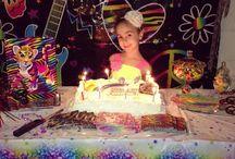 Arabella's 5th Birthday / All things Lisa Frank!!!!!! / by Katelyn Jordan