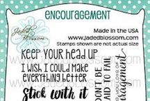 Encouragement / Projects created with Encouragement Stamps