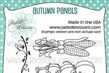 Autumn Panels / Projects created with Autumn Panel Stamps
