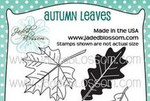 Autumn Leaves / Cards and Fall Themed Projects