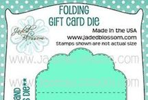 Folding Gift Card Die / Gift Card Giving Ideas, Gift Card Die