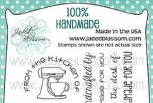 100% Handmade / 100% Handmade Stamps, Handmade project tags