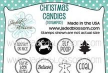 Christmas Candies (Revamped) / Christmas Stamps