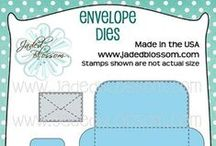 Envelope Dies / Envelope Dies, Large Die fits 3 by 3 card