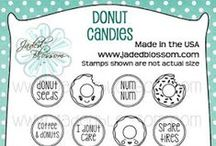 Donut Candies / Donut themed Stamps