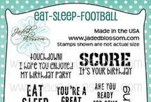 Eat-Sleep-Football / Projects created with Eat-Sleep-Football stamps