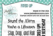 Fired Up / Projects created with Fired Up stamps