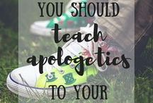 Apologetics for Kids / Apologetics resources, tips and encouragement for children and families.