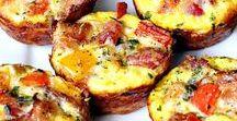 Breakfast Recipe Ideas / We are HUGE fans of breakfast time ~ these are a few of our favorite breakfast recipe.