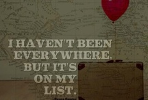 Dream Places/Travel things / Places I'd like to go to, or go back to :)