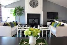 Decorate! Living Room / Ideas for decorating my living room / by Stephanie Abrams