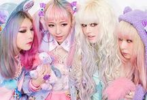 Harajuku / Bubble POP Smash Color EXPLOSION! / by Alysia Vance