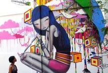 Street Art / The streets are full of beauty. / by Alysia Vance