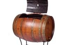 Wine Barrels / Reusing wine barrel staves and heads