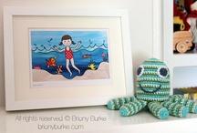 kids / by Briony Burke Illustration & Design