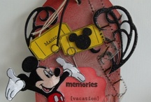 Disney Cards and Scrapbooking