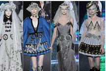 """Fashion Frenzy / """"Fashion is architecture."""" / by Alysia Vance"""