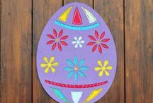 Easter Hunts, Bunnies and Chicks / Easter ideas, decorations, crafts, diy. All things Easter. / by Five Little Chefs
