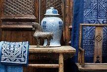 Interior Design - blue & white / by Xueling Zou