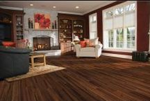 Laminate Flooring / Laminate flooring is a popular hardwood alternative choice for budget-conscious homeowners. With a selection range that replicates hardwood species, grains, coloring systems and more, laminate wood offers the realistic appearance and feel of solid hardwood floors. www.empiretoday.com / by Empire Today®